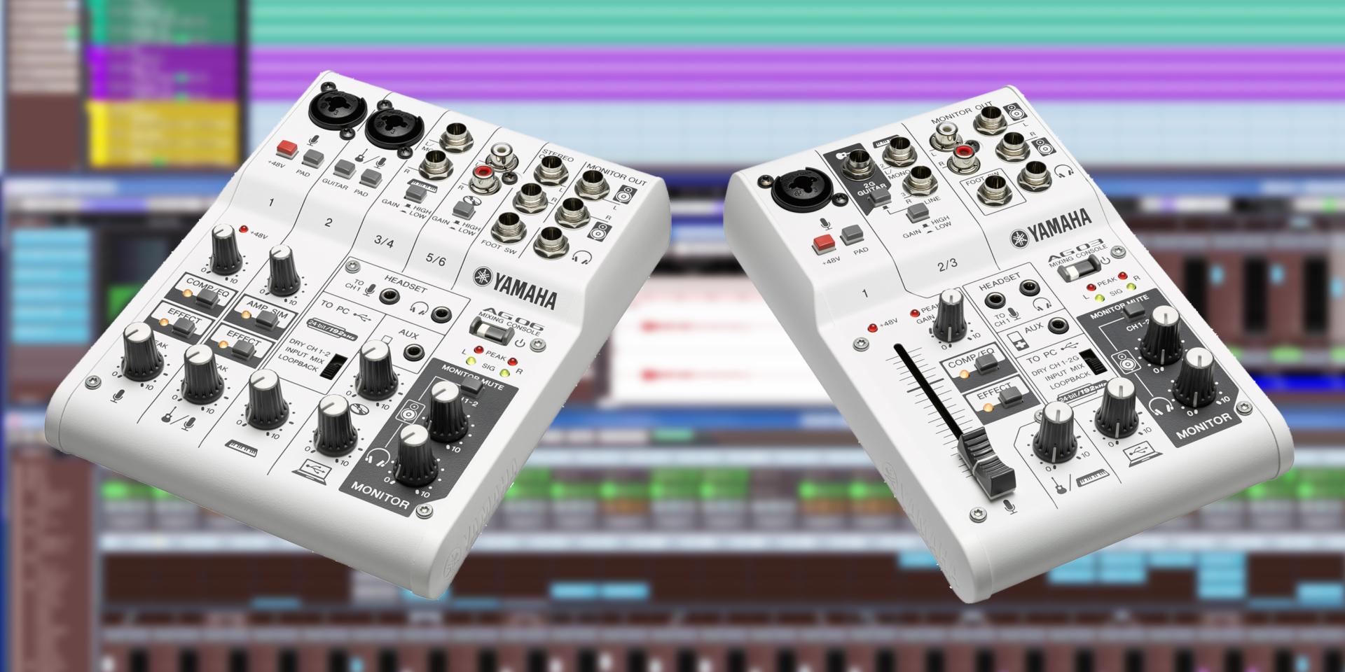 AG è un mixer multi-funzione ad alta risoluzione con interfaccia audio USB compatibile con sistemi PC, Mac e iPad. Grazie alla sua qualità sonora 192kHz/24bit AG è ideale sia per l'home recording, sia per le produzioni podcast o di contenuti musicali per i siti di streaming live.