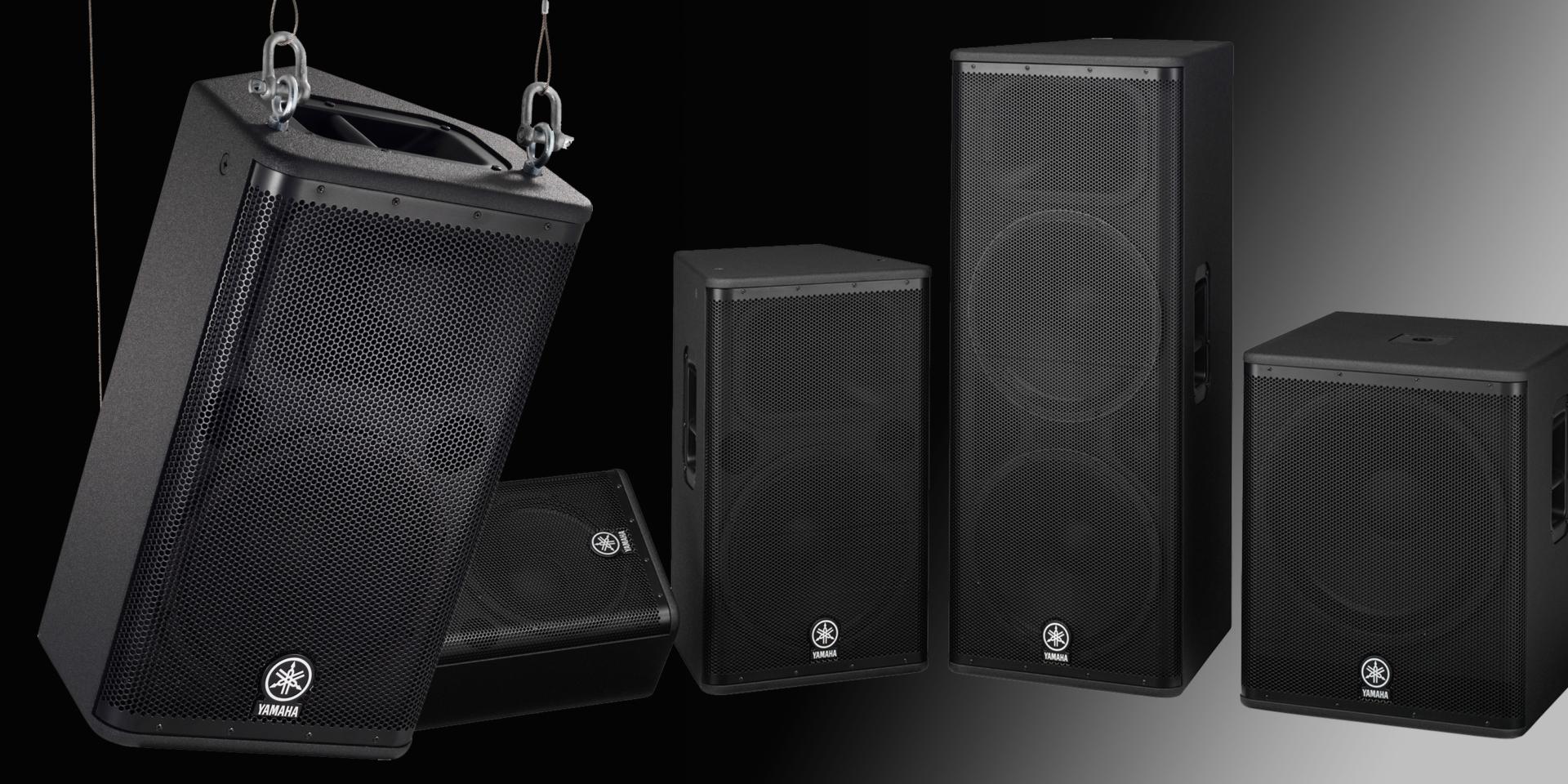 I quattro modelli della serie DSR sono flessibili, maneggevoli, perfetti per una vasta gamma di applicazioni professionali.