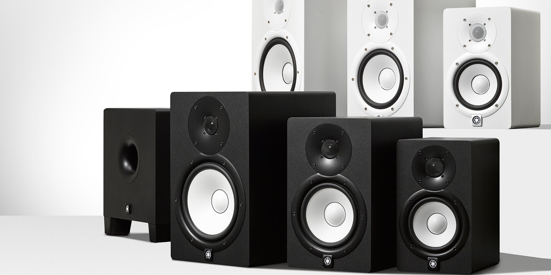 I reference monitor Yamaha Serie HS sono stati progettati per assicurare un'immagine sonora precisa, ad alta risoluzione e con un'ottima risposta in frequenza.