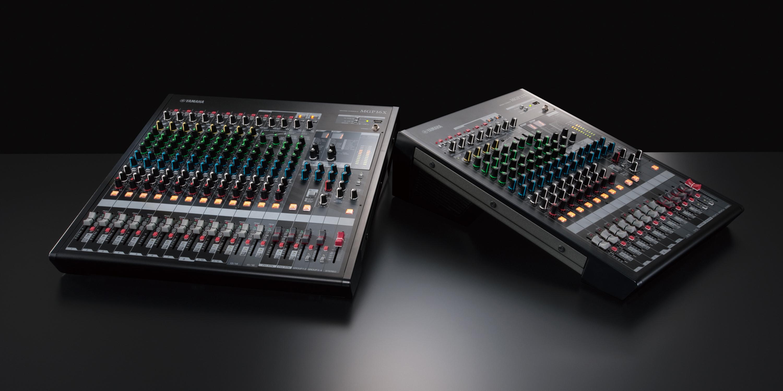 La serie di mixer analogici MGP adotta un approccio innovativo rispetto al semplice utilizzo della tecnologia digitale in un mixer analogico, aggiungendo effetti ad alta risoluzione, integrazione iPod/iPhone, la funzionalità del canale ibrido stereo e il calore e la musicalità del suono analogico di alta qualità.