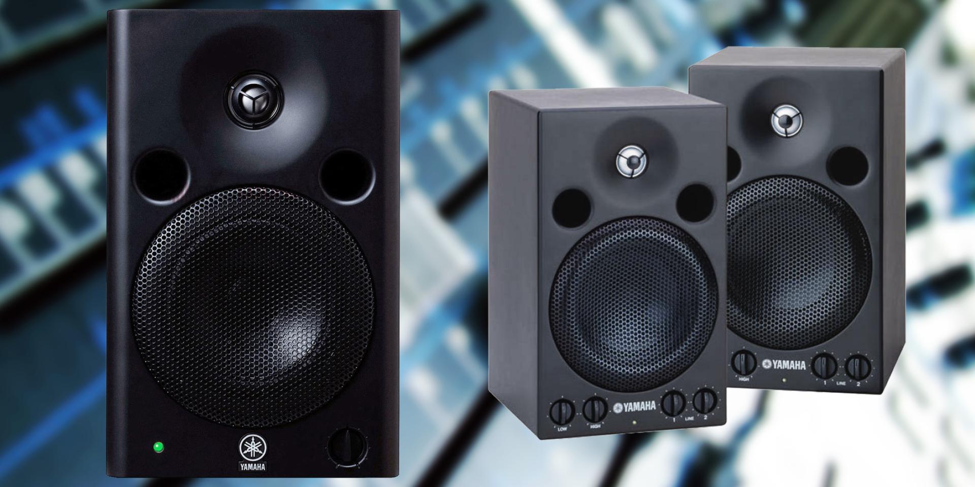I monitor Yamaha della serie MSP sono stati progettati tenendo presente le caratteristiche del monitoraggio professionale e dando particolare attenzione alla qualità e alla linearità del suono in riproduzione.