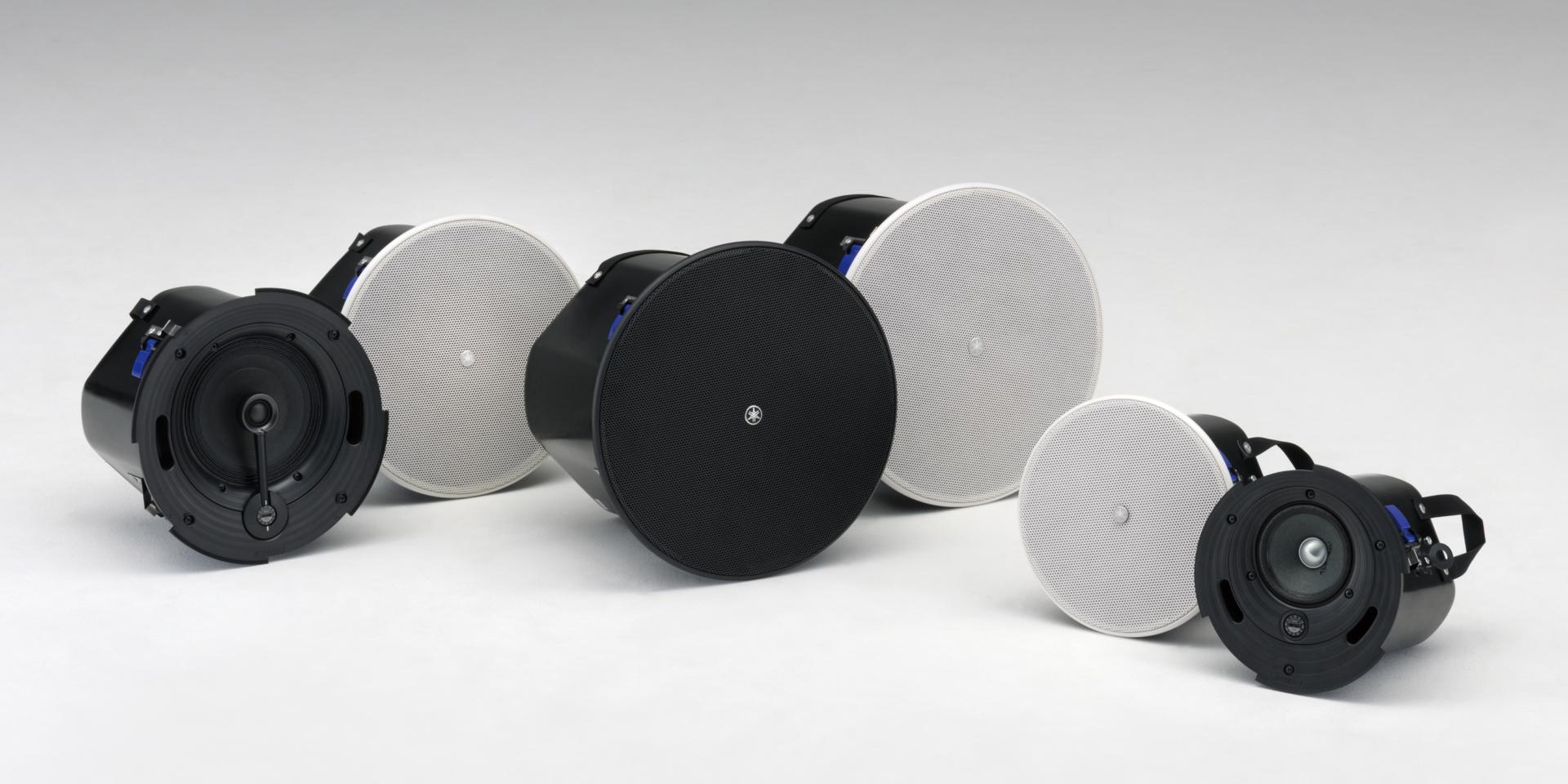 La nuova line-up di speaker passivi Yamaha VXC è l'ideale per tutte quelle applicazioni rivolte al mercato delle installazioni. Dotati di inserti anti-scivolo per l'alloggiamento a incasso, che ne rendono il montaggio semplice e sicuro, gli altoparlanti di questa serie comprendono una gamma completa di modelli disponibili sia in bianco che in nero, con la possibilità di essere verniciati per un migliore inserimento nell'ambiente.