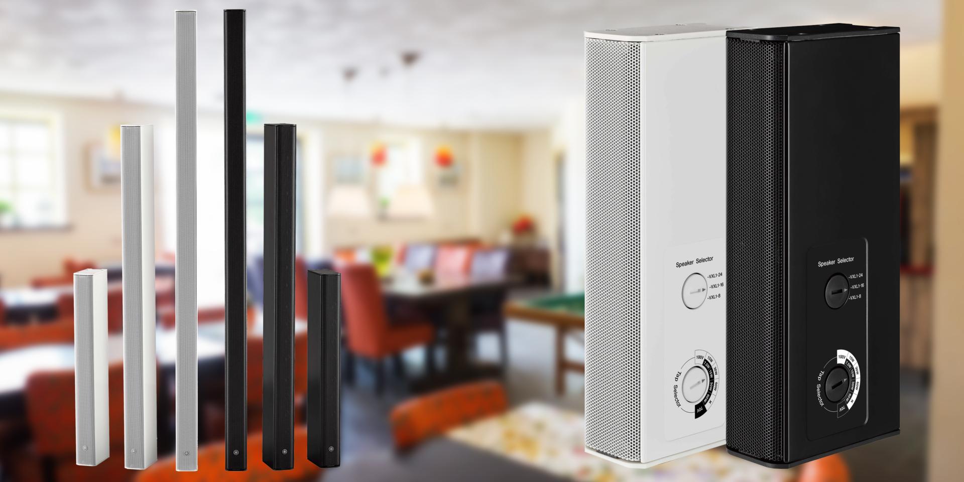 I diffusori Line Array Yamaha Serie VXL offrono un'eccellente combinazione tra uniformità di volume e qualità del suono che ne fanno una scelta perfetta per sale polifunzionali, sale conference e altre strutture che richiedono la massima intelligibilità in tutta l'area di ascolto.
