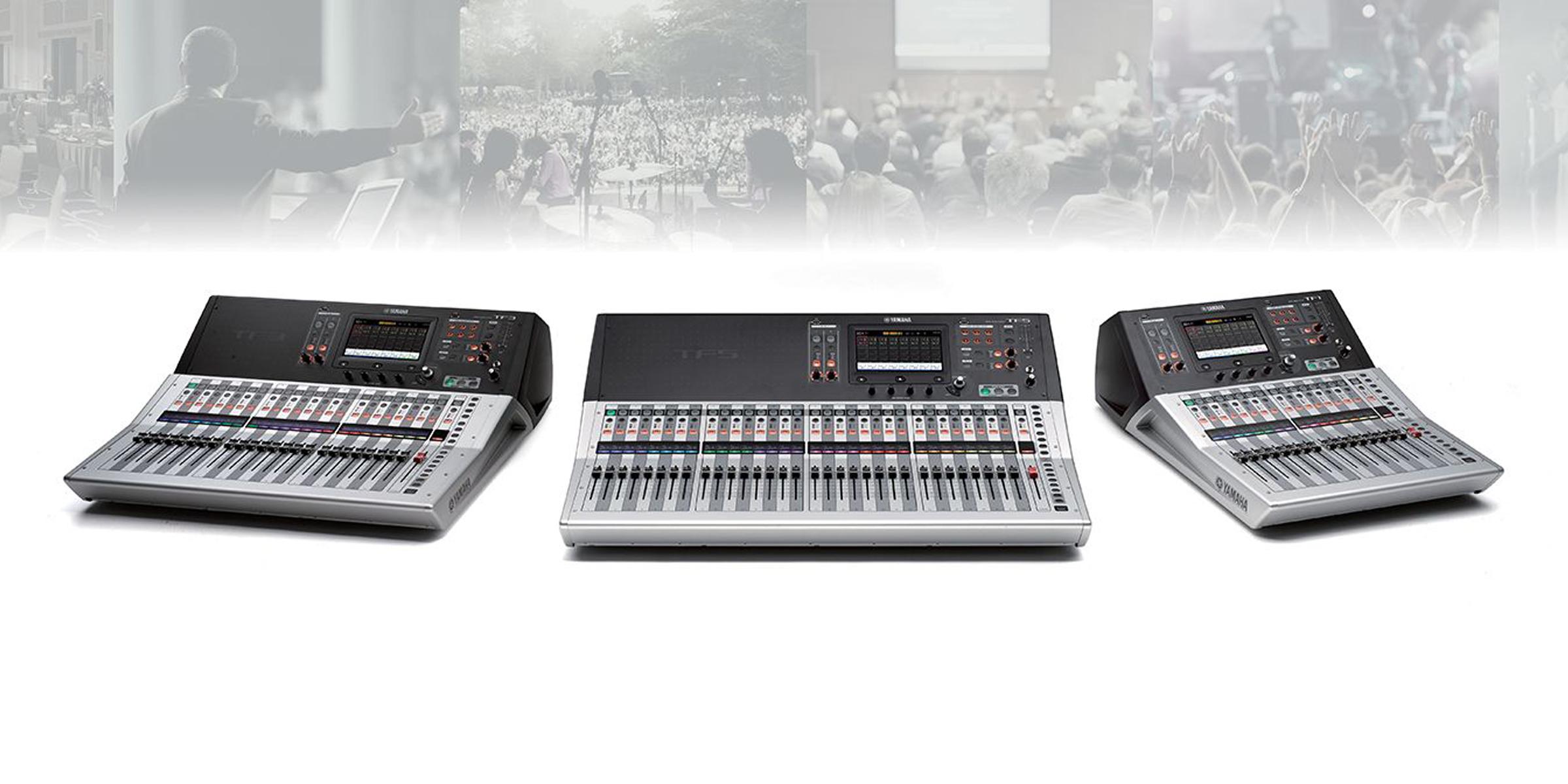 Digital Console Yamaha – Serie TF